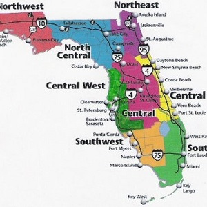 graphic relating to Printable Map of Florida named Florida Highway Maps - Statewide, Community, Interactive, Printable