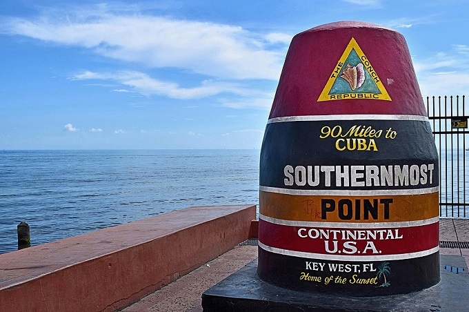 Southernmost marker in Key West is one of many things you will learn in Florida Keys Travel Guide.