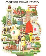 This poster of Marco Polo Park is representative of all lost Florida tourist attractions