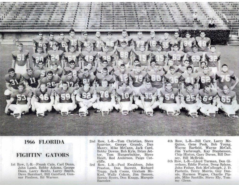 1966 University of Florida Fightin' Gators