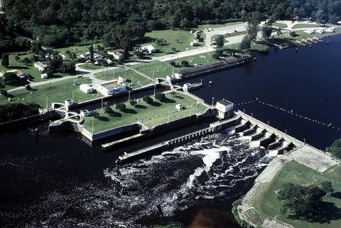 Okeechobee Waterway St Lucie Lock