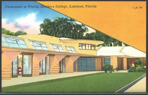 Florida Southern College Postcard