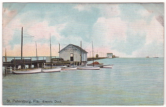 Vintage Postcard St Peterburg, Florida