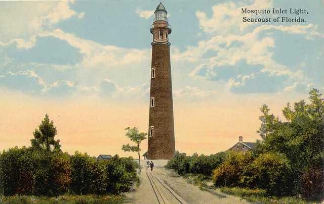 Vintage Postcard Ponce Inlet, Florida