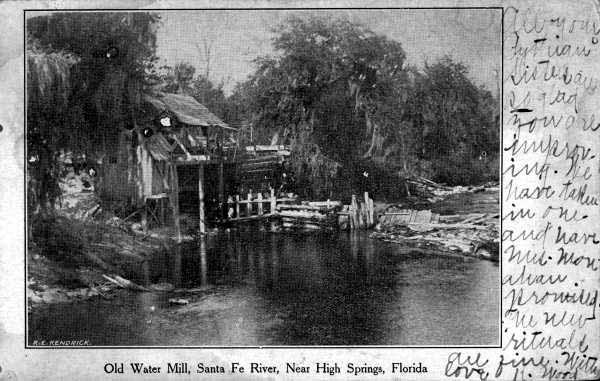 Vintage Postcard High Springs, Florida