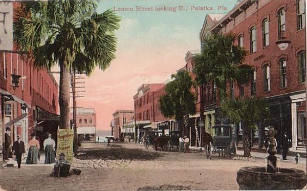 Lemon Street in Palatka, Florida