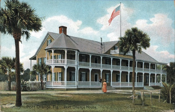 Port Orange Hotel Postcard