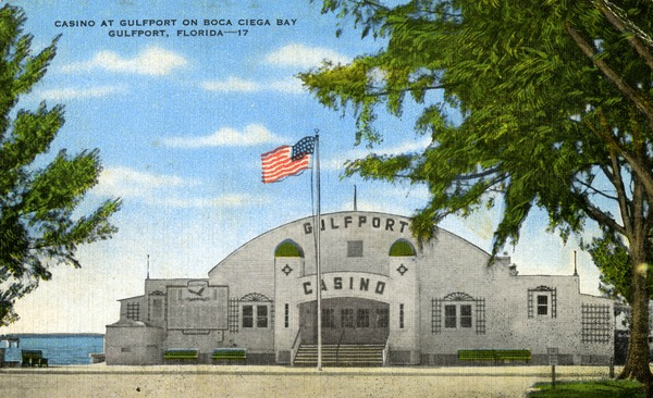 Vintage Postcard Gulfport, Florida
