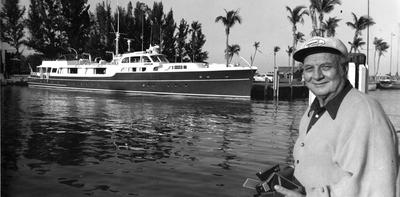 Chanticleer and Ralph Evinrude at the Outrigger Resort in Jensen Beach