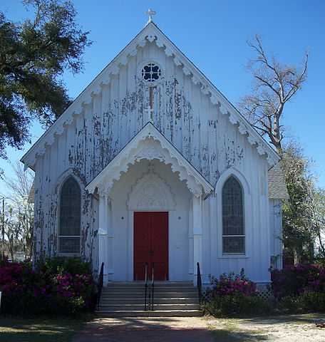 St Marys Church in Milton, Florida