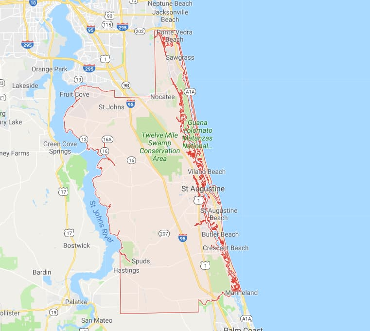 Florida Map With Cities And Counties.Maps For All 67 Florida Counties And A Brief History Lesson