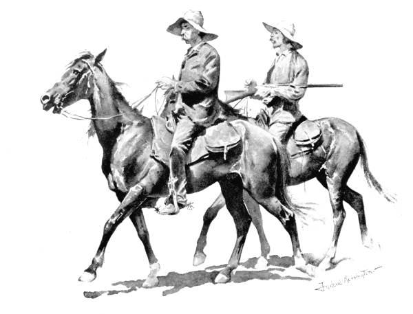 Florida Cowboys by Frederic Remington