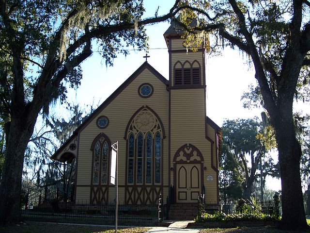 Church in Monticello, Florida