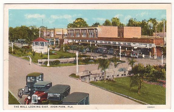 Avon Park Florida Mall Postcard