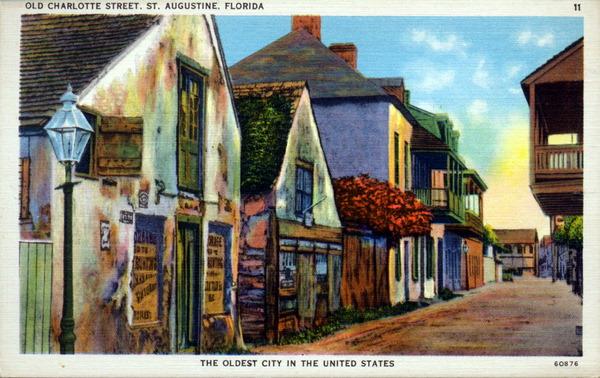St Augustine Florida Old Charlotte St