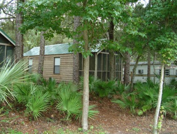 Cabin at Florida fish camp