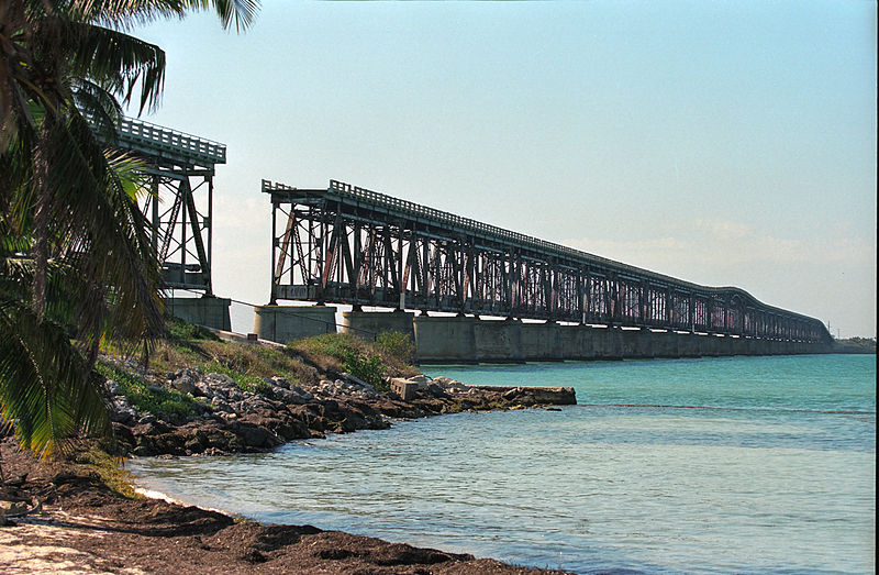 Bahia Honda Railroad Bridge, by Jerzy Strzelecki via Creative Commons
