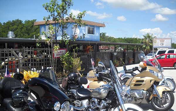 Alabama Jack's on Card Sound Road near Key Largo.