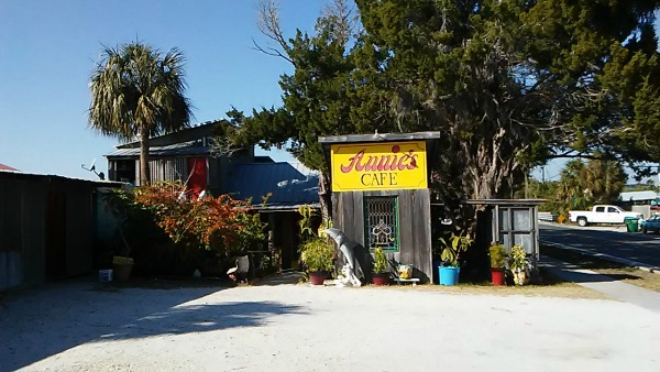 Annie's Cafe in Cedar Key