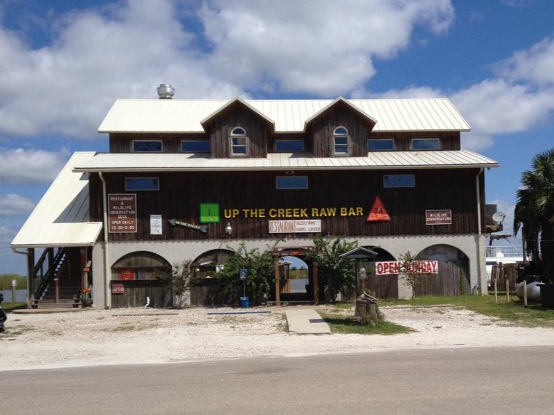 Up The Creek Raw Bar, Apalachicola
