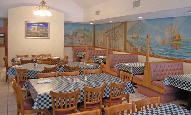 Athena Restaurant, St Augustine, Florida