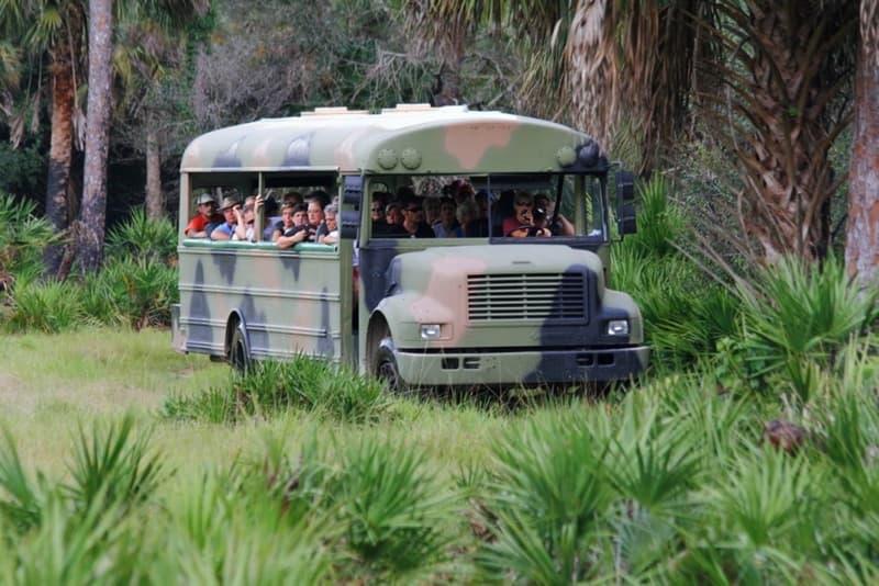 Babcock Ranch Tour Bus