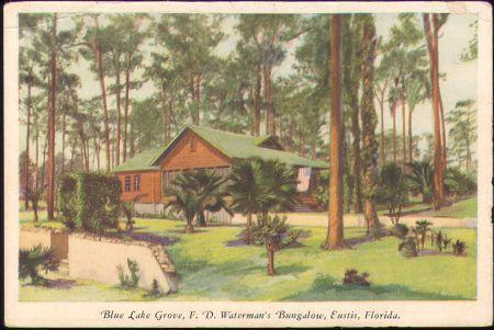 Frank Waterman Home in Eustis, Florida