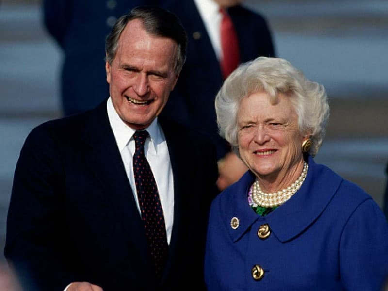 George H. W. and Barbara Bush