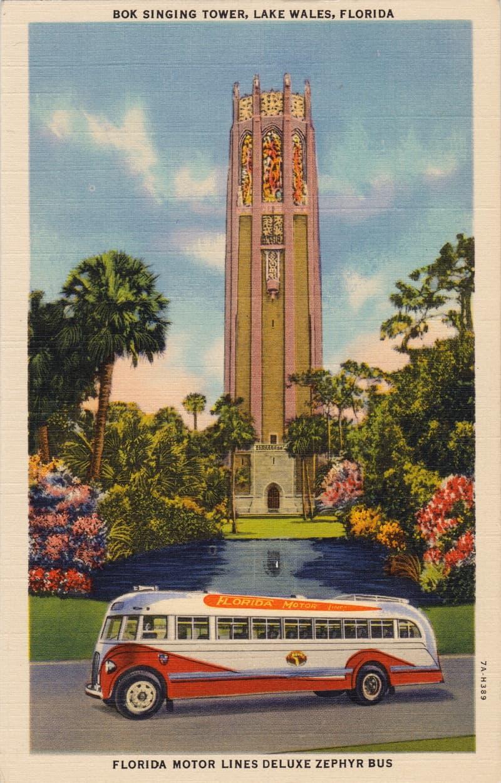 Vintage Postcard Lake Wales, Florida