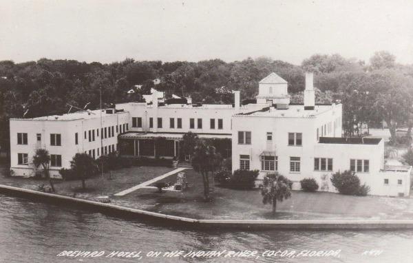 Brevard Hotel In The 1940s