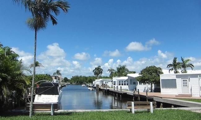 Briny Breezes Florida Million Dollar Mobile Homes