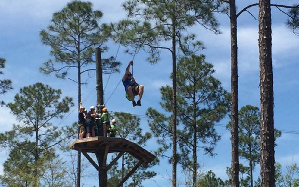 Zip Lining in Florida