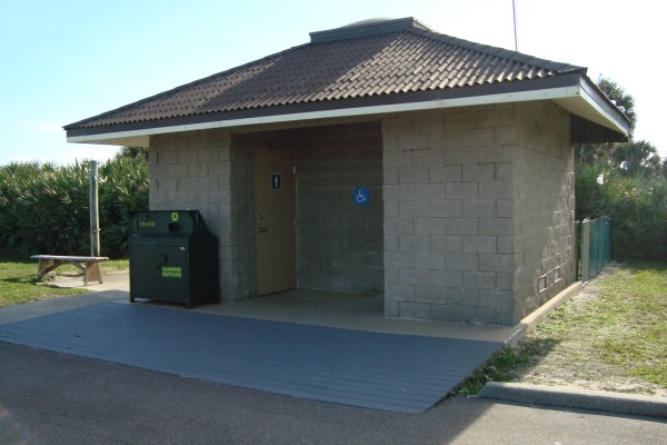 Canaveral National Seashore Beach Restroom