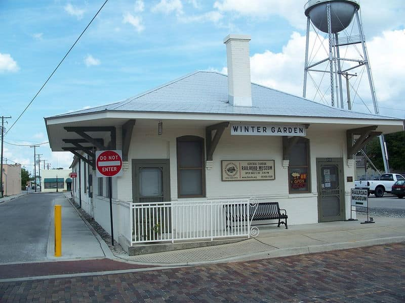 Central Florida Railroad Museum, Winter Garden