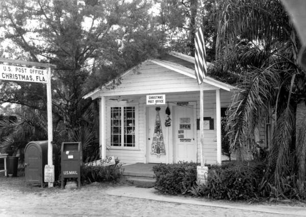 Christmas, Florida, Post Office Circa 1950s