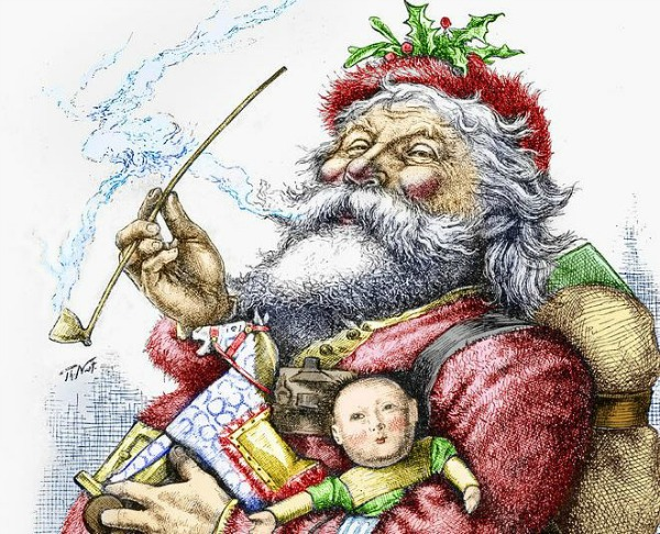 Santa Claus, by Thomas Nast