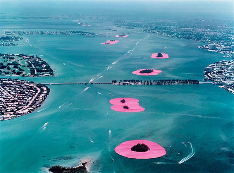 Christo Surrounded Islands