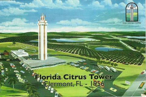 Florida Citrus Tower Clermont Florida