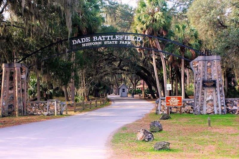 Dade Battlefield Hiatoric State Park