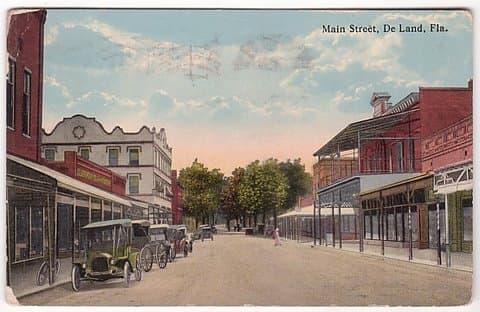 Vintage Postcard DeLand, Florida