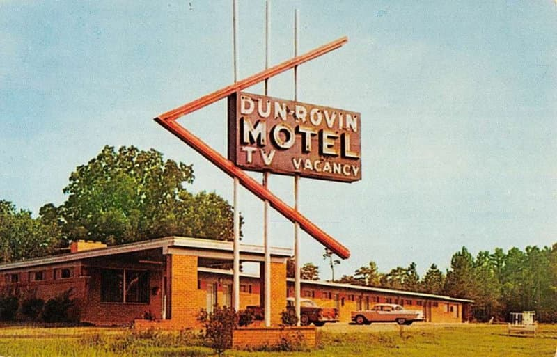 The Dun Rovin Motel in Monticello Has Dun Gone Into History