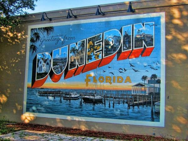 Dunedin, Florida Mural