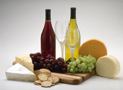 Wine and Cheese at Emerald Coast
