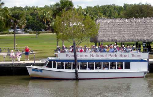 Everglades National Park Tour Boat