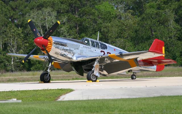 1944 North American P-51C Mustang at Fantasy of Flight
