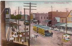 Fernandina Beach Florida Vintage Postcard