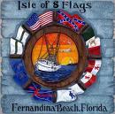 Fernandina Beach Florida Flags