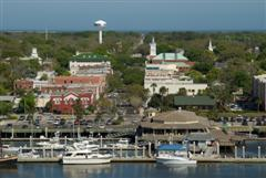 Fernandina Beach Florida Harbor