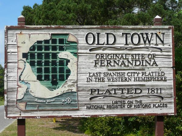 Old Town in Fernandina Beach