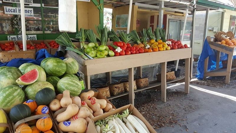 Aunt Martha's Produce Market in Floral City
